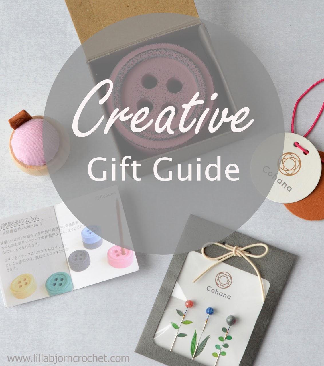 Looking for a Christmas gift to a creative friend? A gift guide by www.lillabjorncrochet.com
