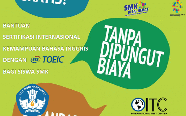 Materi Paparan Bantuan Sertifikasi TOEIC SMK 2018