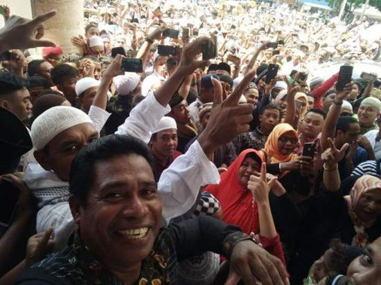 Di Ambon Manise, Prabowo dan Rakyat Merayakan Persatuan Indonesia