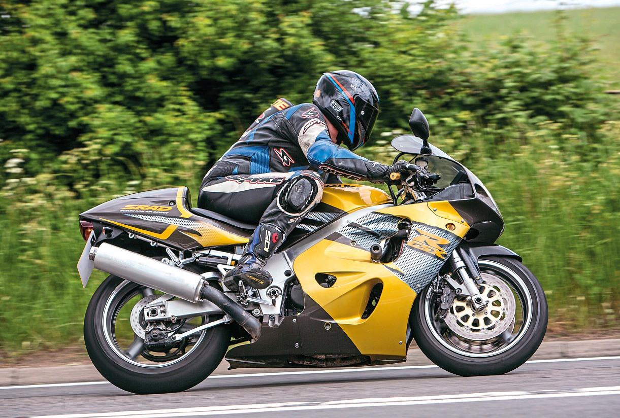 motorcycle modification: Suzuki GSX-R750 SRAD, The Last ...