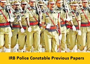IRB Police Constable Previous Papers PDF Download - Indian