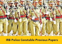 IRB Police Constable Previous Papers