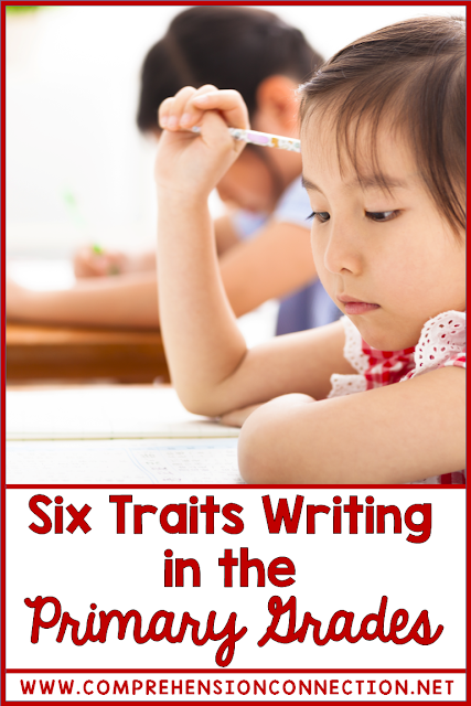 Writing is best taught using common language. By using the six writing traits, your students get the right start. In this post, learn ways to include the six writing traits with common primary writing practices.