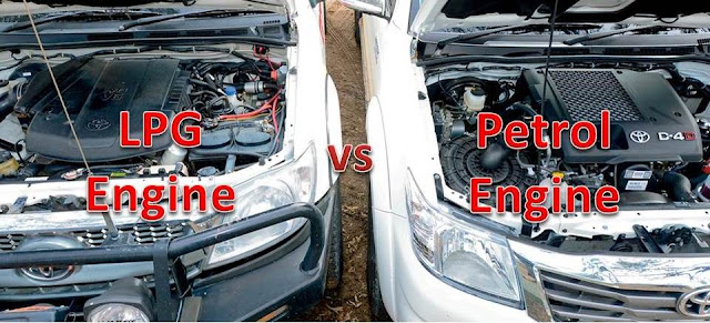 LPG vs Petrol Engine