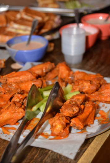 Party Wings for the Big Game from Ocean Catering's Chef Shane via www.productreviewmom.com