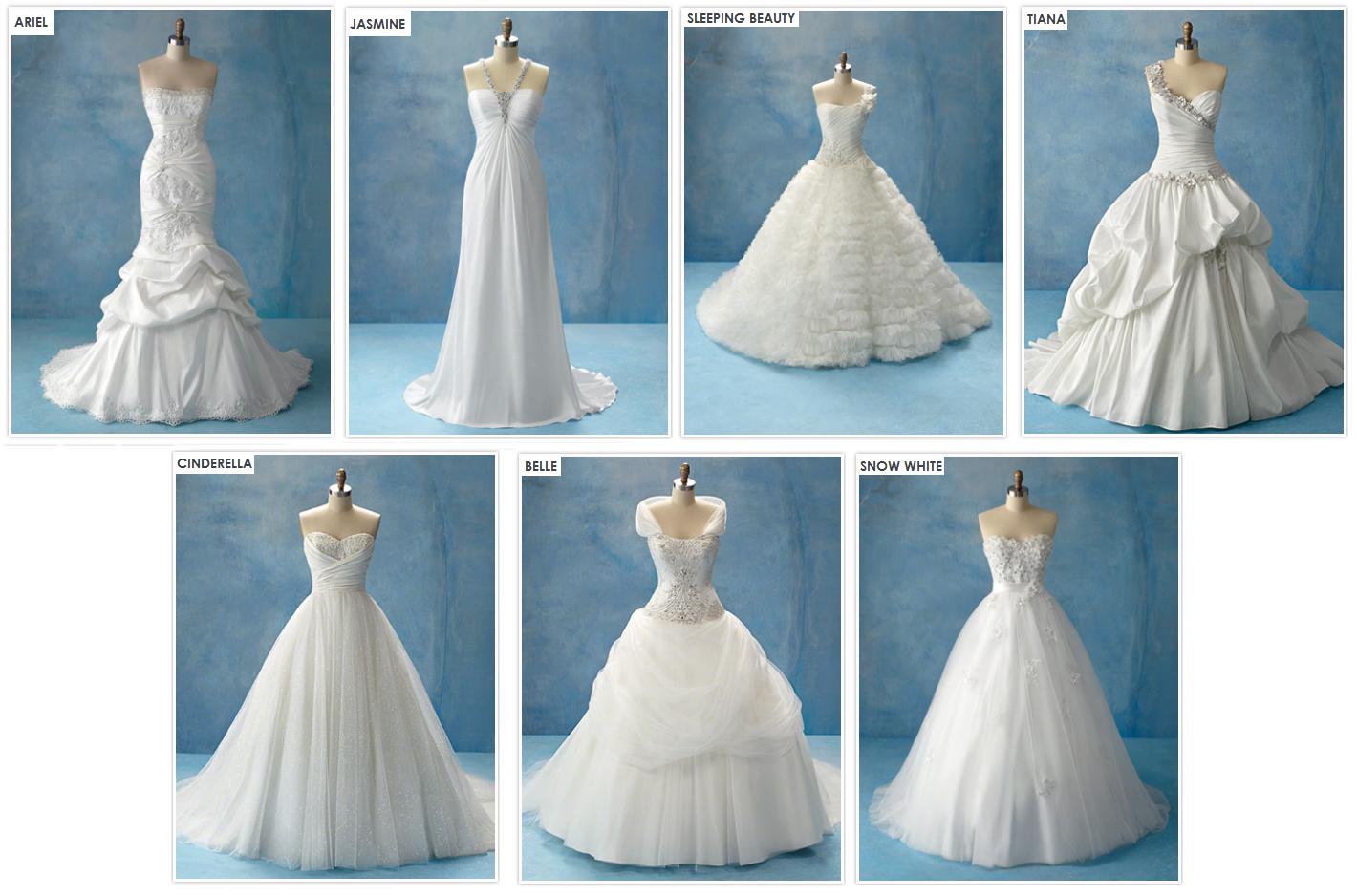 Disney Princess Wedding Dresses   Dream Wedding IdeaS Around The World