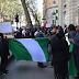 PHOTOS: Nigerians Storm High Commission in UK, Demand To See Buhari
