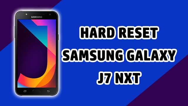 restaurar - hard reset Samsung Galaxy J7 NXT