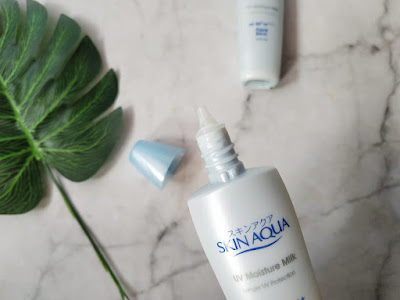 cara menggunakan skin aqua spf 50 untuk memutihkan wajah