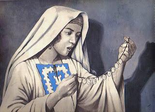 ¿por qué razón la mujer buscó desesperadamente la moneda perdida? En la parábola de Jesus.