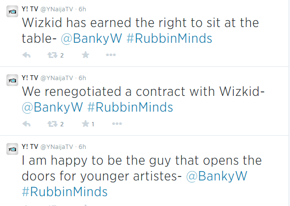 banky and wizkid relationship advice