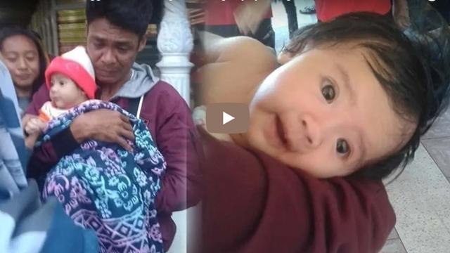 Istri dan Anak Tewas, Pria Menangis Gendong Bayinya, Pergi dari Palu sebab Tak Ada yang Tersisa