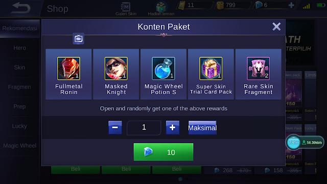Modal 50 Diamond Dapat Skin Fullmetal Ronin Kok Bisah? 1