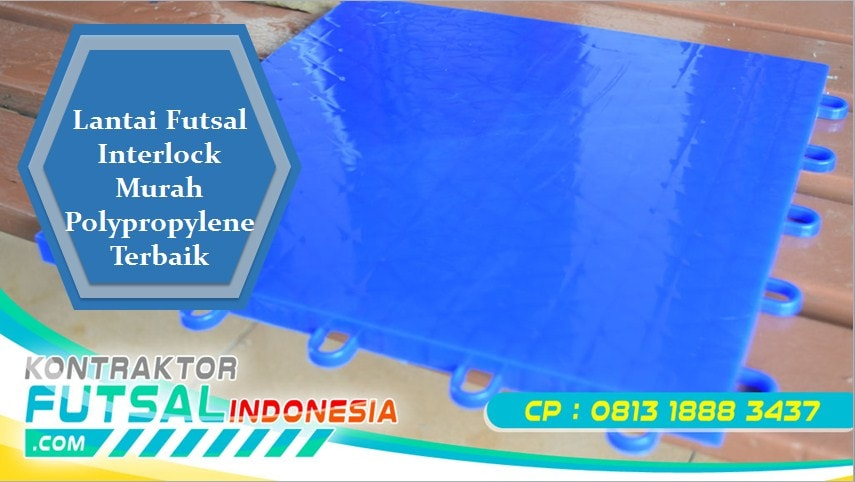Lantai Futsal Interlock Murah