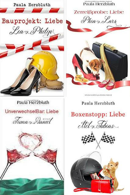Geschenktipps für Bücherwürmer: Doppelpunkt Liebe-Reihe von Paula Herzbluth