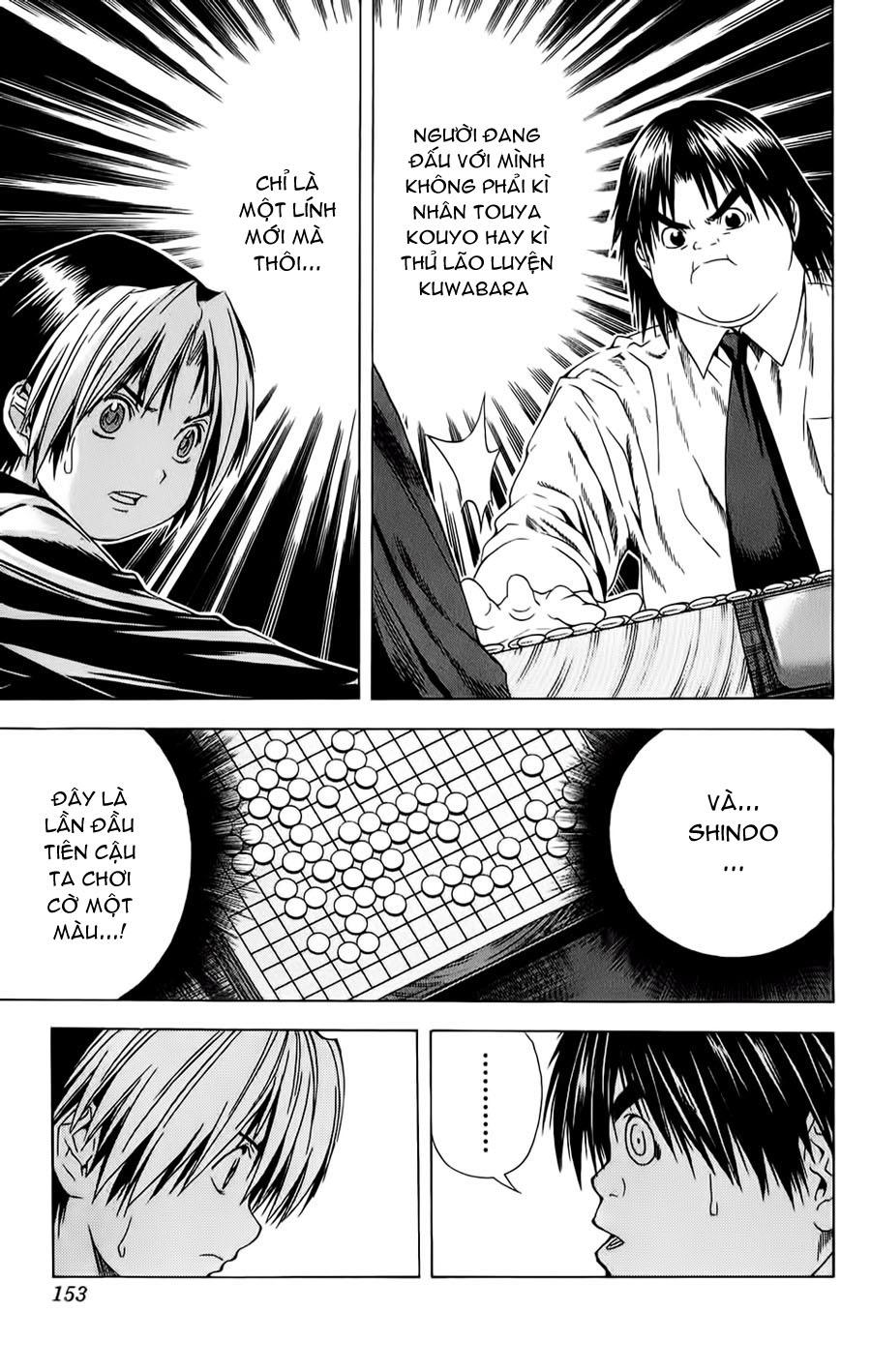 Hikaru No Go hikaru no go chap 120 trang 14