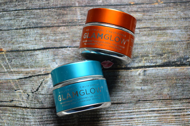 Thirstymud Hydrating Treatment  and Flashmud Brightening Treatment Glamglow