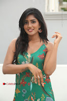 Actress Eesha Latest Pos in Green Floral Jumpsuit at Darshakudu Movie Teaser Launch .COM 0050.JPG