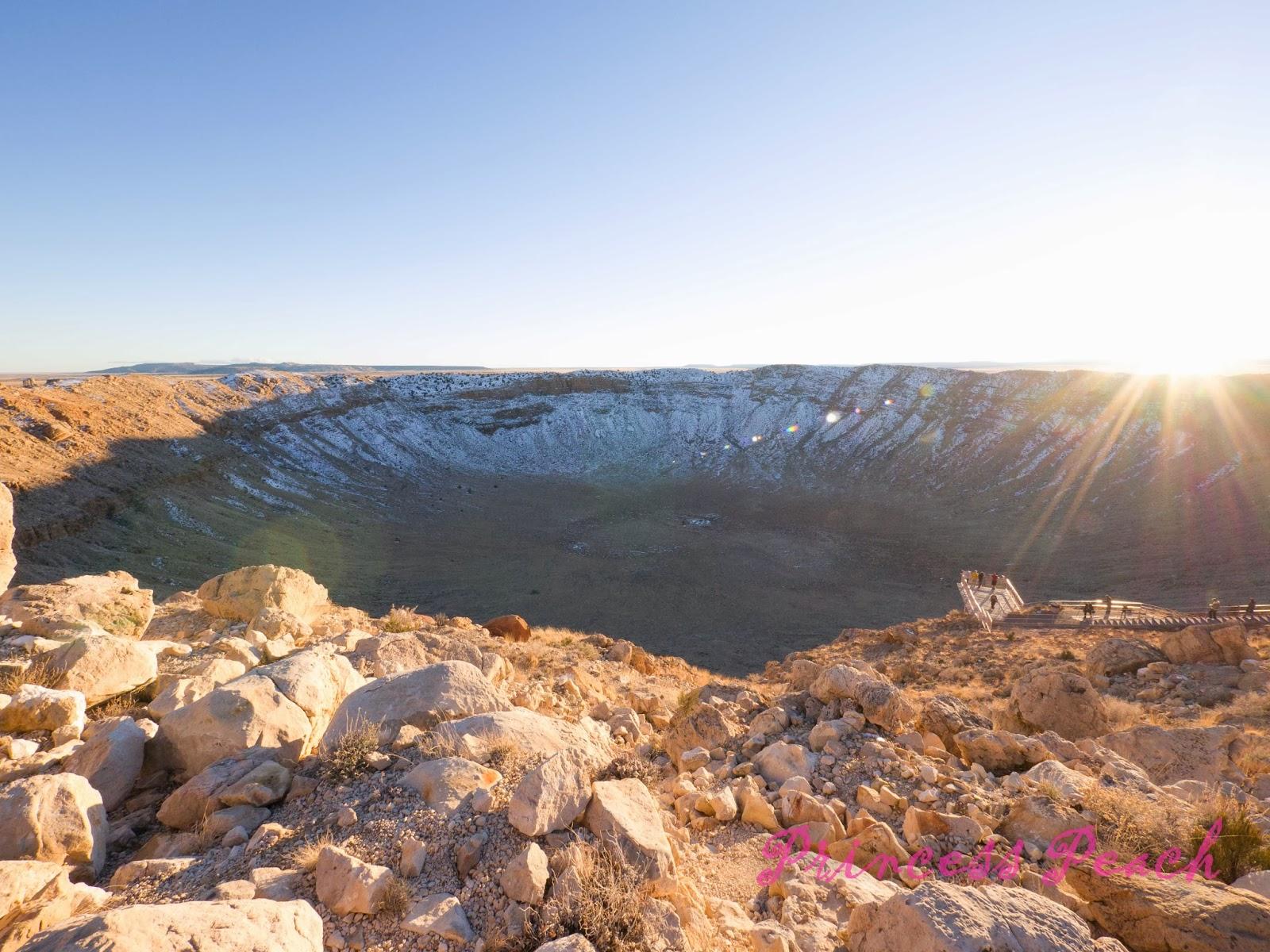 Meteor-Crater-隕石坑