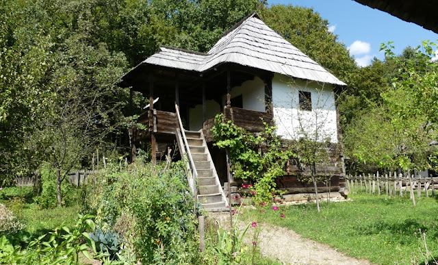 Bauernhaus im Astra-Museum nahe Sibiu