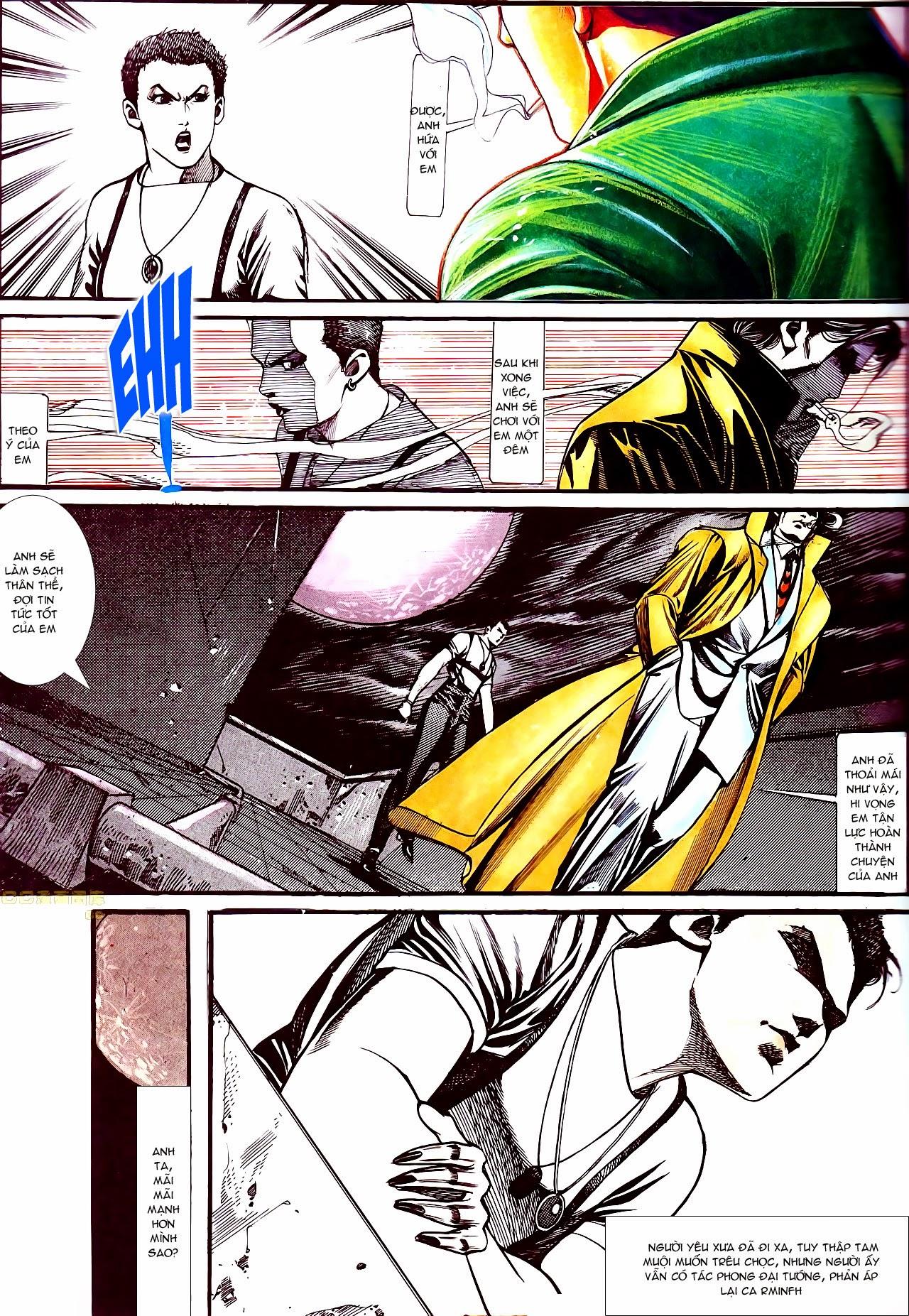 Người Trong Giang Hồ chapter 135: cạm bẫy rình rập trang 25