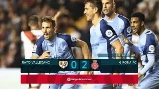 Rayo Vallecano Vs Girona 0-2 Football Highlights and Goals 2019