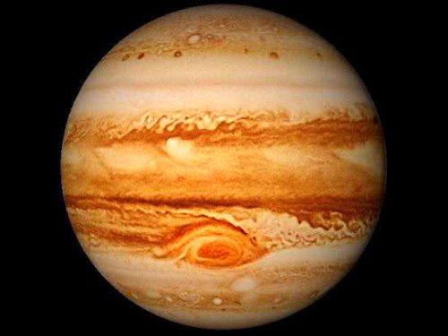 Ciclones en Júpiter