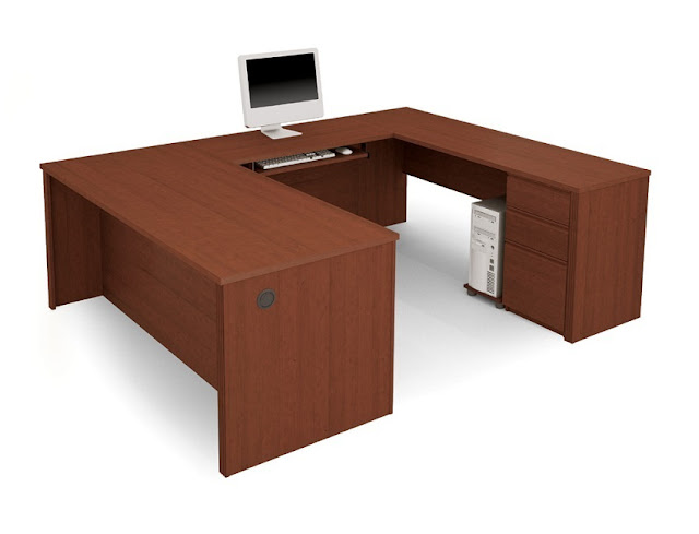best buy u shaped wooden home office furniture collections for sale