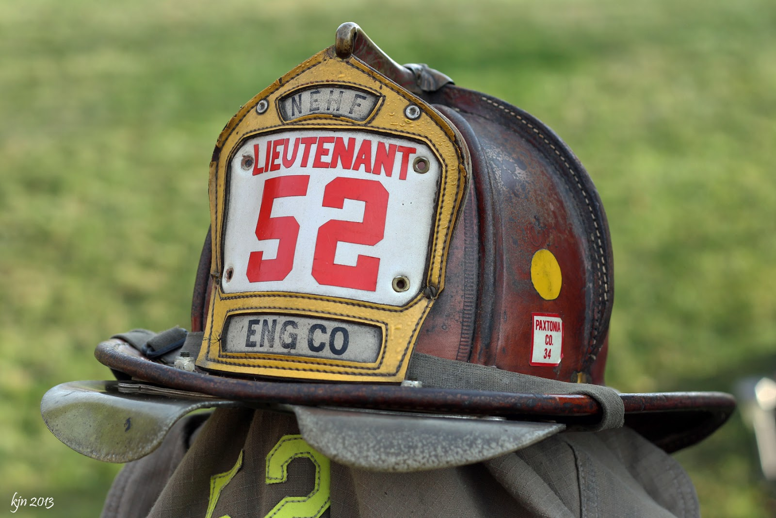 The Outskirts Of Suburbia Fire Helmets