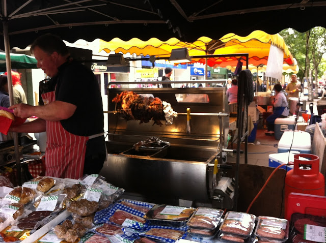 Hog roast, Fresh N Local, Gloucester farmers market