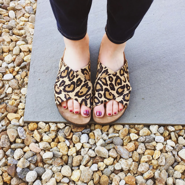sam edelman leopard sandals