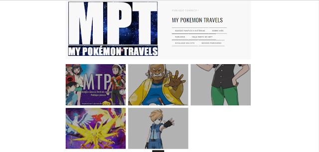A nova cara de My Pokémon Travels !