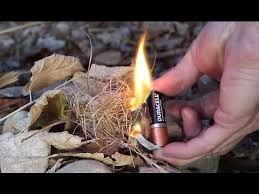 Cinco métodos de como prender fuego sin cerillos o encendedor