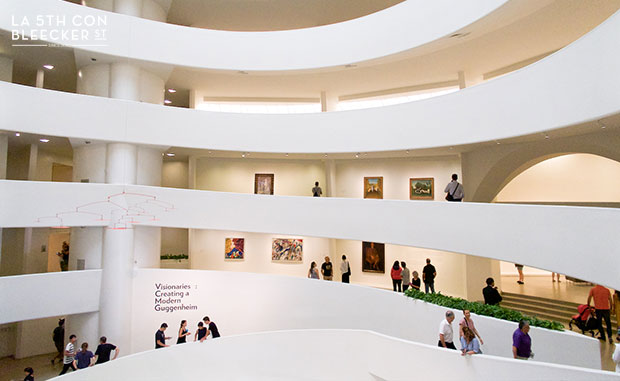 Museo de arte Guggenheim Nueva York que ver