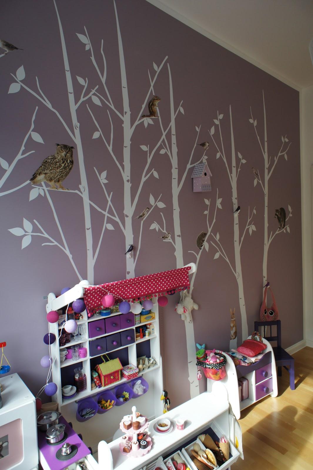 wandgestaltung kinderzimmer made by j a m t. Black Bedroom Furniture Sets. Home Design Ideas