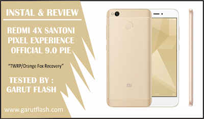 Pixel Experience Redmi 4X [Instal & Review] Tampil KECE