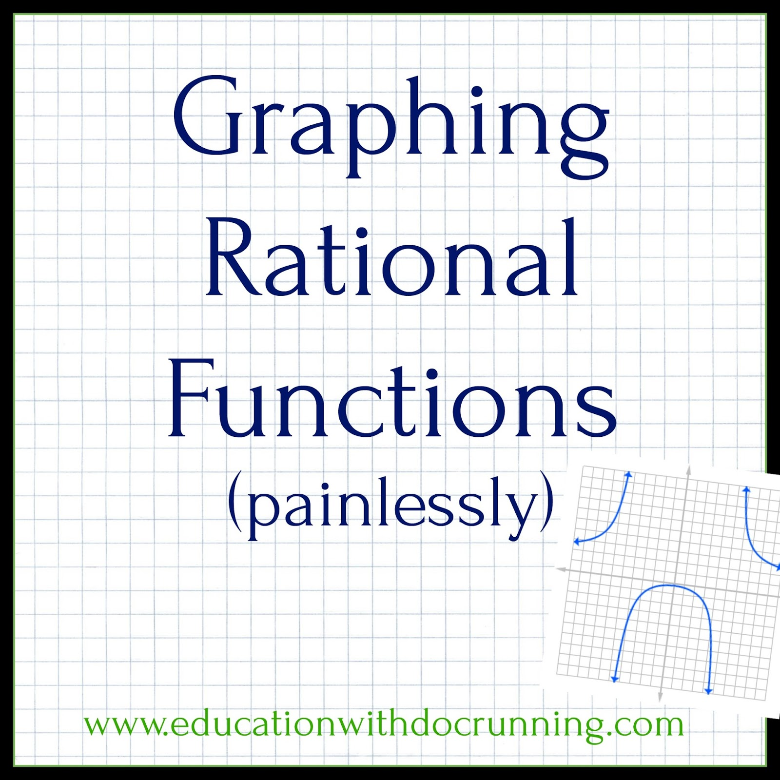 Math Mondays Teaching Graphing Rational Functions