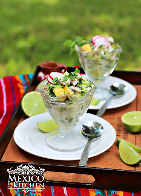 Ceviche verde recipe