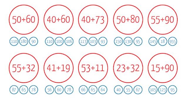 8 fichas de razonamiento matemáticos para niños de 7 y 8 años