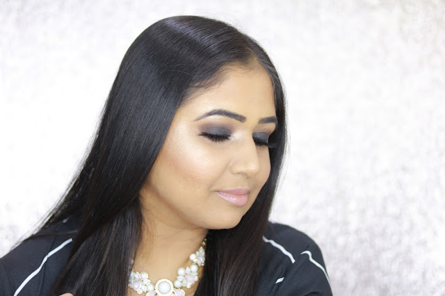 Black Smokey Eyes Indian Skin