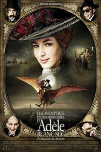 The Extraordinary Adventures of Adèle Blanc-Sec (2010) (Dual Audio) (Hindi-French) 720p