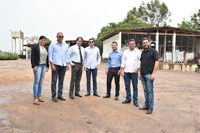 Comitiva da cidade de São Bento do Uma visita cidade de Sairé