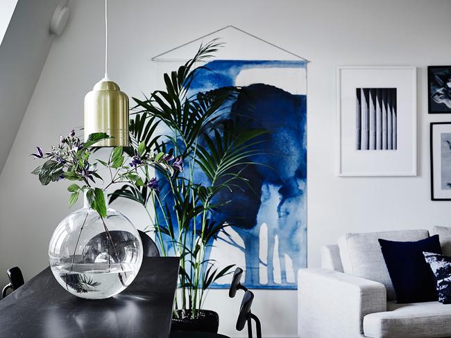 El azul es el color de este año para tu casa