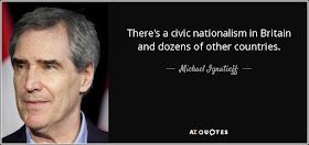 Michael Ignatieff on civic nationalism