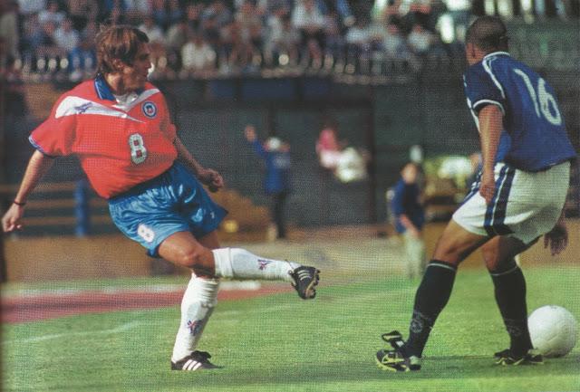 Guatemala y Chile en partido amistoso, 5 de febrero de 2000
