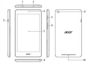Acer Iconia One 7 Tablet - B1-780-K610 Manual PDF Download (English)