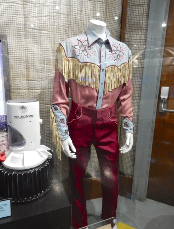 Back to the Future III Marty McFly cowboy costume