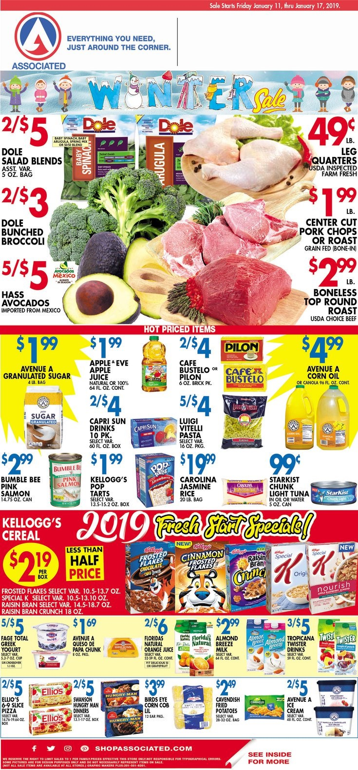 Associated Supermarkets Circular