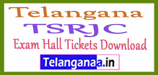 TSRJC Exam Hall Tickets