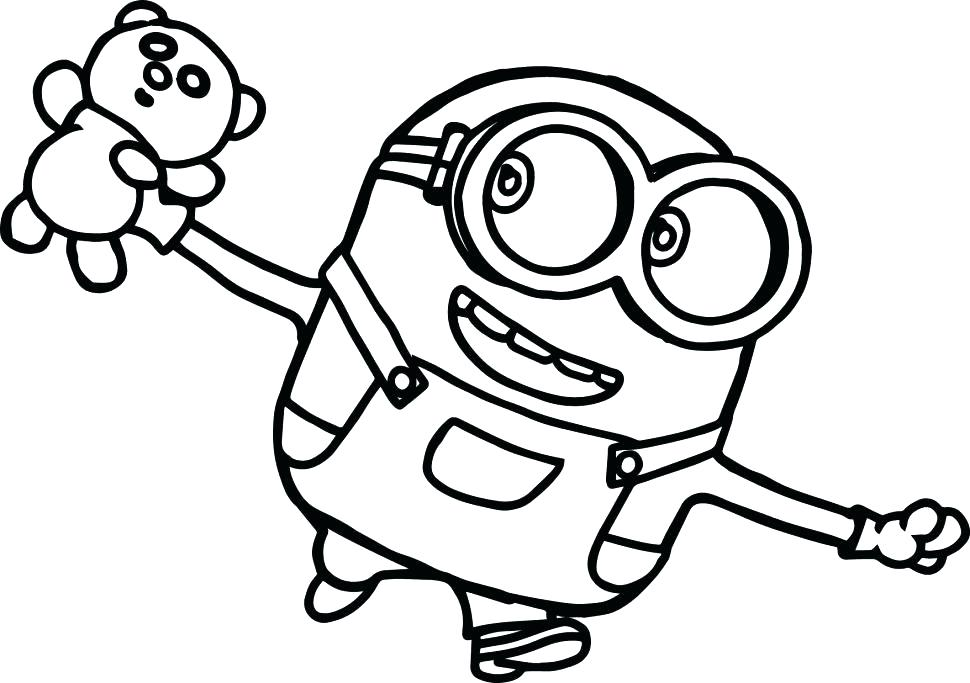 Coloring Book Minions Pdf - Kids and Adult Coloring Pages